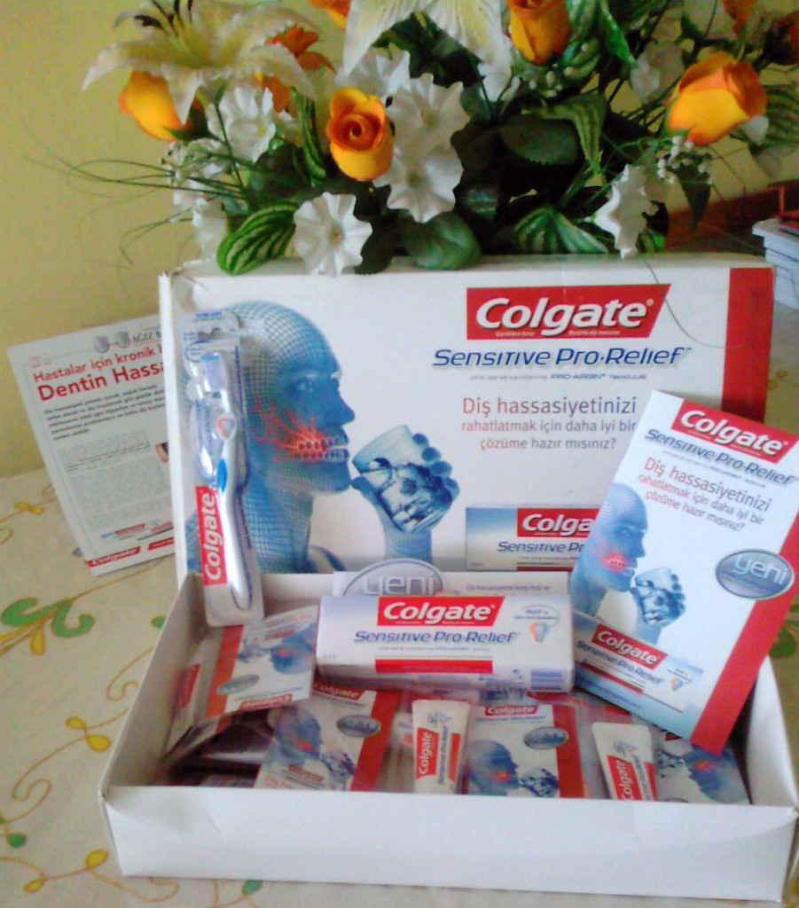 colgate sensitive pro-relief diş macunu diş hassasiyetine kesin çözüm